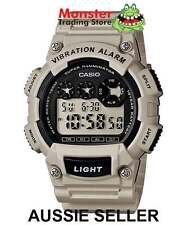 AUSSIE SELLER CASIO GENTS W-735H-8A2V W735 VIBRATION ALARM 12-MONTH WARRANTY