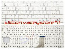 Tastiera ITA 04GOA191KIT10-2 Bianco Asus Eee PC 1001PXD, 1005HA, 1005HA-B
