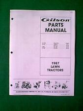 Gilson outdoor power equipment manuals guides ebay gilson tractor lt11s lt8s lt12s parts manual 1987 ccuart Images