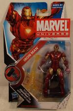 "Marvel Universe 3.75"" Iron Man Extremis Armor Series 2 #007 Hasbro Mint On Card"