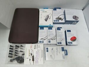 Lot of 10: Assorted Insignia Electronics Accessories for Laptop & Computer (Q2)