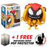 FUNKO POP MARVEL SPIDER-MAN SCREAM SYMBIOTE #671 EXCLUSIVE + FREE POP PROTECTOR