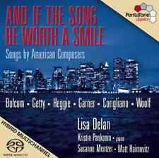 "New! ""AND IF THE SONG BE WORTH A SMILE"" (SACD, 2009) Super Audio CD ***SEALED***"