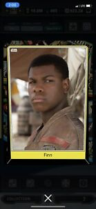 Topps Star Wars Digital Card Trader Tier 9 Heritage Finn S5 Variant - 77 cc