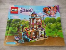Lego Friends 41340 friendship house Manual Instruction Book booklet ONLY!!!