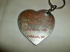 New listing Narcotics Anonymous~ Wsnac Iv 1987 Oshkosh Wi The Heartbeat Of Recovery Key Ring