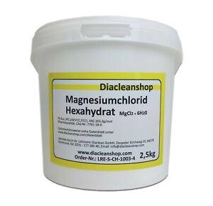 Magnesiumchlorid Hexahydrat - E511 - Pulver in Pharma-Qualität 2,5kg