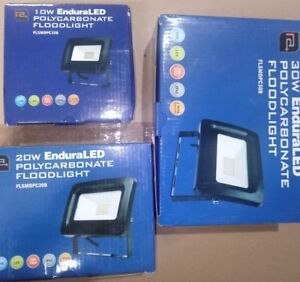 LED Floodlight with PIR & NONE PIR 10, 20, 30 & 50W Security Light Cool