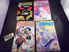 Marvel Comics Iceman #1 2 3 and 4 (1984)