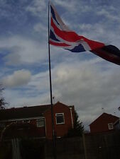 5M TELESCOPIC POLE.FLY YOUR FLAGS AND WINDSOCKS
