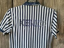 VINTAGE 90'S KENZO GOLF BIG LOGO SPELL EMBROIDERY POLO T SHIRT M