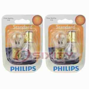 2 pc Philips Parking Light Bulbs for Studebaker Avanti 1963-1964 Electrical af