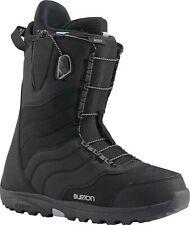 "WOMEN'S BURTON ""MINT"" SPEEDZONE LACING SNOWBOARD BOOTS (BLACK) SIZE: 9"