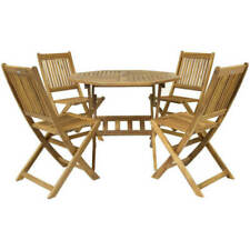 Umbrella Hole Garden & Patio Furniture Sets