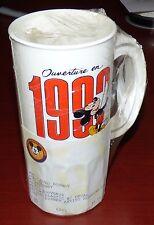 EURO DISNEY 1992 MICKEY MOUSE SOUVENIR PLASTIC MUG DISNEYANA CONVENTION