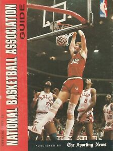 1977-78 The Sporting News Official NBA Guide 500+ Pages L@@K Scans Great Shape!