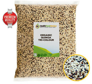 Organic Quinoa Tri-Colour (UK Certified Organic) **OFFER PRICE** White Red Black