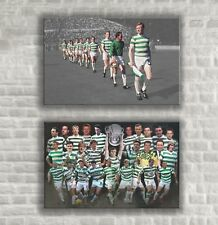 "Celtic - Lisbon Lions & Legends - 2 Wall Canvases 25""x16"" (63x40cm)"