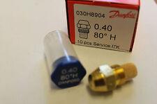 1x Brennerdüse Danfoss 0,40/80°H Hohlkegel Düsenwechsel reduziert den Ölverbrauc