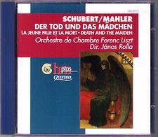 Schubert ARR. Mahler la morte e la ragazza Janos Rolla CD Death and the Maiden