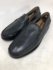 Cole Haan Henderson Venetian Loafers Men size 9M Black Leather