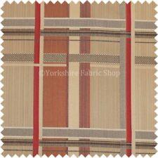 Telas y tejidos rojos de rayas de poliéster