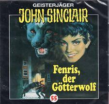 JOHN SINCLAIR - Teil 55 - Fenris, der Götterwolf - AUDIO CD - NEU OVP