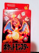 NEW IN BOX NINTENDO POKEMON POCKET MONSTERS CHARIZARD  PLAYING CARDS  JAPAN