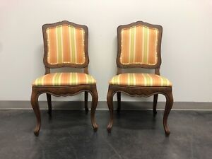 BAKER French Country Style Dining Side Chairs - Pair B