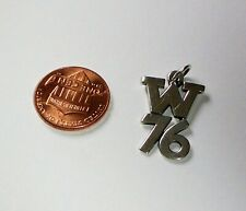 """James Avery Sterling Silver Camp Mystic Year 1976 W76 Charm 1"""""""