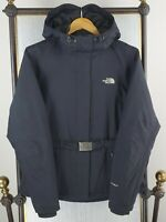 THE NORTH FACE Medium Womens 550 Goose Down Greenland Jacket HyVent Black Hooded