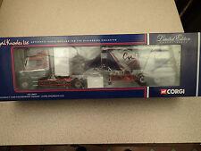 Corgi 1:50 Ltd CC12807 Ltd Edn Scania T Cab Cyril Knowles Ex Shop Stock BNIB