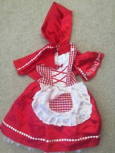 Little Red Riding Hood dressing up costume 3 - 5 years old