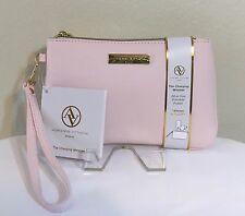 Adrienne Vittadini Studio Charging Wristlet Wallet Pink Detach Strap NWT $90.