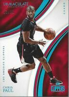2016-17 Immaculate Collection Blue #14 Chris Paul /35 - NM-MT