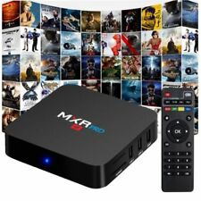 MXR Pro 4K HD TV Box Android 7.1 CORTEX-A53 4G+32G Quad Core H.265 bt4.0 3D UK