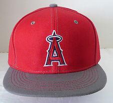 MLB LA Anaheim Angels Hat - Red with Gray Bill NEW Baseball Cap - SGA 2015