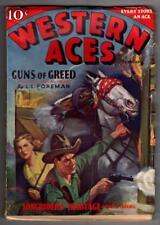 Western Aces Feb 1936 Sydney Riesenberg Cover
