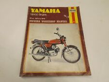 Yamaha YB100 singles 1973-1979 motorcycle manual