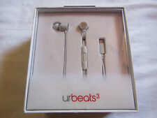 Beats by Dr. Dre urBeats3 Earphones Lightning Connector Matte Silver MR2F2LLA/A