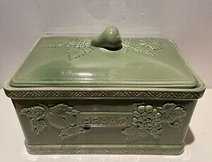 Larrge Vintage Ceramic Bread Bin - Jay Willfred
