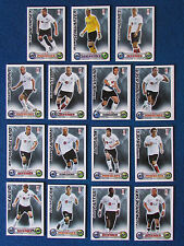 Topps Match Attax Cards - Lot of 15 - Fulham - 2008/09 - Blue Back