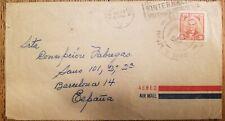 O) 1959 Jose De La Luz Caballero - Sc 521, International Airmail To Spain, Xf