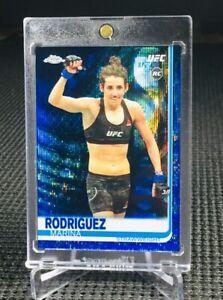 "2019 Topps Chrome UFC ~ MARINA RODRIGUEZ (#63/75) ""BLUE WAVE"" REFRACTOR RC!!!📈"