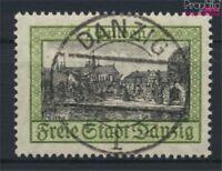 Danzig 207I, Strich im O von Oliva (Feld 42) gestempelt 1924 Ansichten (9222579