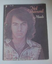 Neil Diamond MOODS Songbook  Piano Vocal Easy Organ/Piano 1972