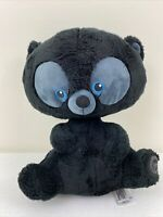 Disney Store Exclusive Brave Plush bear Hamish Movie Pixar Black Blue Eyes