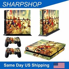 Skin Kit for PS4 Game Playstation 4 Console Remote Acce Stickers Cover Basket