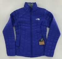 The North Face Women's Thermoball Eco Jacket Aztec Blue NWT FREE SHIPPING