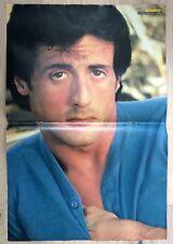 BRAVO POSTER Sylvester Stallone Rambo Rocky - U2 Bono - 80er Jahre !!!